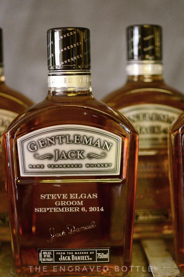 Engraved Gentleman Jack Groomsman Gift